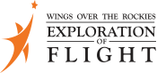 Wings over the Rockies Exploration of Flight Logo